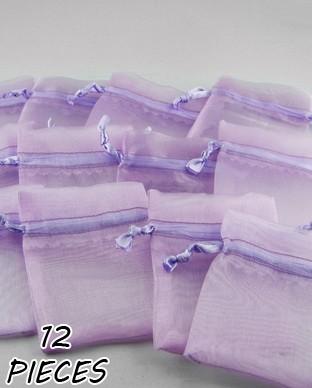 Les 12 Pochettes organza