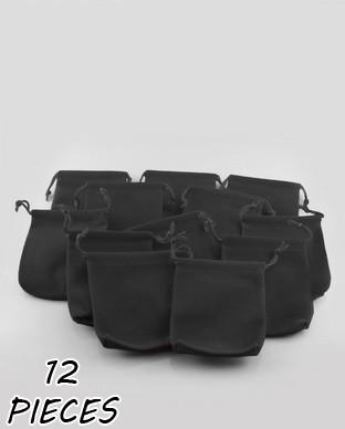 Les 12 Pochettes velours