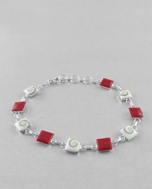 Bracelet Oeil Ste Lucie & Corail